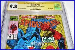 Spider-Man #15 CGC SS Signature Autograph STAN LEE 9.8 1st Masterblaster Comic