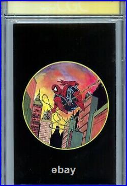 Spider-Man 1990 1 CGC 9.6 SS X3 Platinum variant Stan Lee McFarlane Romita Sr WP
