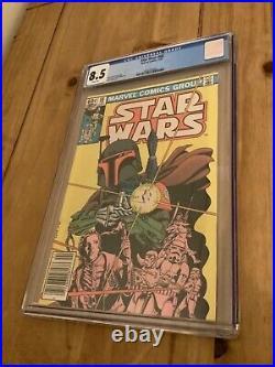 Star Wars #68 1st Appearance of the Mandalorian CGC 8.5 Marvel Comics