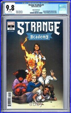 Strange Academy #1 150 Opena Variant CGC 9.8 Gorgeous Copy Many 1st Appearances