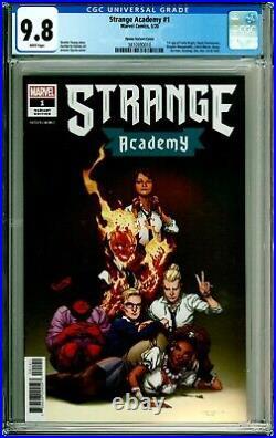 Strange Academy #1 2020 Marvel Opena Variant 1st Strange Academy Team CGC 9.8