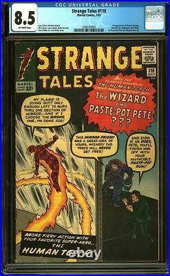 Strange Tales 110 CGC 8.5 OW Silver Age Key Marvel 1st Doctor Strange L@@K IGKC