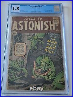 Tales To Astonish #27, Marvel, CGC 1.8, 1st appearance Ant-Man