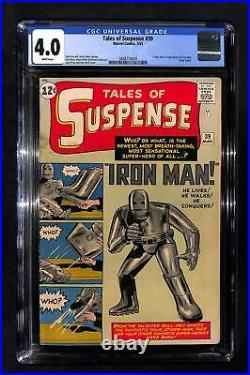 Tales of Suspense #39 CGC 4.0 Origin & 1st appearance of Iron Man