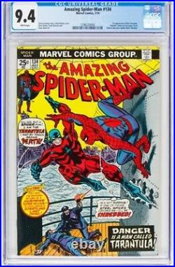 The Amazing Spider-Man #134 (Marvel, 1974) CGC NM 9.4