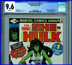 The Savage She Hulk #1 CGC 9.6 NM+ 1980 Marvel Comics Amricons K15