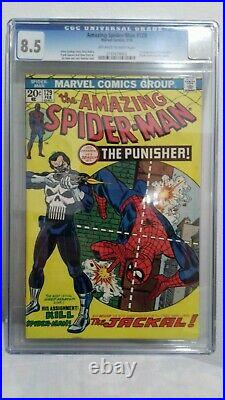 The amazing Spiderman 129 CGC 8.5 Punisher first appearance
