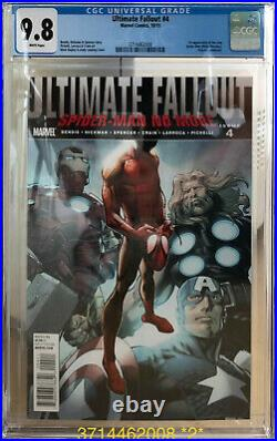 Ultimate Fallout 4 CGC 9.8 White 1st Print First Appearance Miles Morales Marvel
