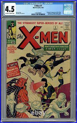 Uncanny X-Men #1 CGC 4.5 1963 1295439001 1st app. X-Men