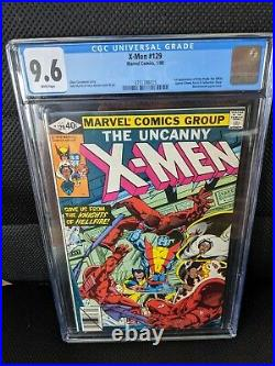Uncanny X-Men #129 1st First Kitty Pryde 1st Emma Frost CGC 9.6 W pages