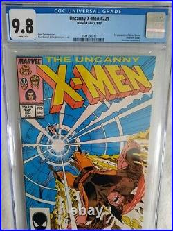 Uncanny X-Men 221 CGC 9.8 First Appearance of Mister Sinister