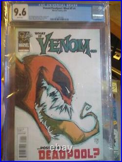 Venom/Deadpool What If #1 What If Venom Possessed Deadpool CGC 9.6