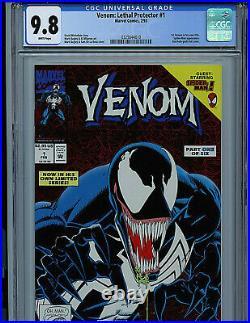 Venom Lethal Protector Issue # 1 CGC 9.8 NM/MT Marvel Comic 1993 Amricons K4/K11