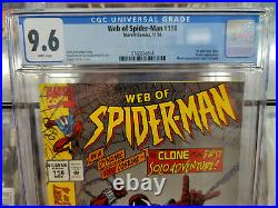 Web Of Spider-man #118 (1994) Cgc Grade 9.6 1st Appearance Scarlet Spider
