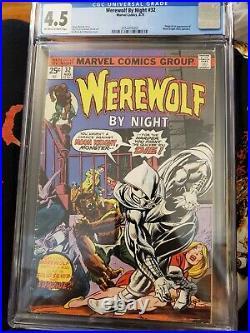 Werewolf By Night #32 CGC 4.5 Grade 1st appearance Moon Knight Marvel Comics