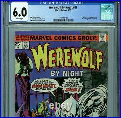 Werewolf by Night #32 CGC 6.0 1972 1st Moon Knight Marvel Comics Amricons B11