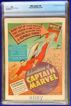 Whiz Comics #19 CGC 7.0 Fawcett Publications 1941 Captain Marvel