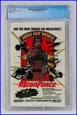 Wolverine Limited Series #1 CGC 9.6 Frank Miller Cover & Art Grail Key NM+ 1982