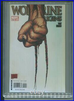 Wolverine Origins #10 CGC 9.8 (2007) Claw Cover 1st First Daken
