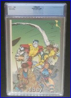 X-MEN #1 (1991) Collector's Edition CGC Graded 9.8 NM/M MARVEL COMICS Jim Lee