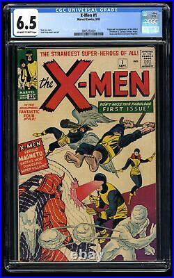 X-Men #1 CGC FN+ 6.5 Off White to White Marvel Comics