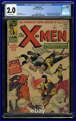 X-Men #1 CGC GD 2.0 Off White Marvel Comics