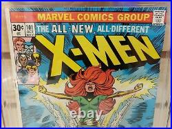 X-Men #101 CGC 9.2 (Marvel Comics 1976) 1st Appearance of Phoenix