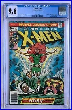 X-Men #101 CGC 9.6 White Pages 1st App The Phoenix Jean Grey Uncanny Marvel