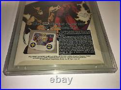 X-Men #4 CGC 9.8 1st Appearance Omega Red Marvel Jim Lee John Byrne Wolverine