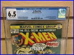 X-Men #94 CGC 6.5 Marvel Comics 1975 New Team 2nd Storm Nightcrawler Colossus