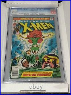 X-men #101 CGC 9.0 First Appearance of Phoenix! Key Issue