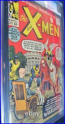 X-men #2 (1st Vanisher) Rare Huge Mega Marvel Key Cgc 4.5 (looks 5.5+) Clean